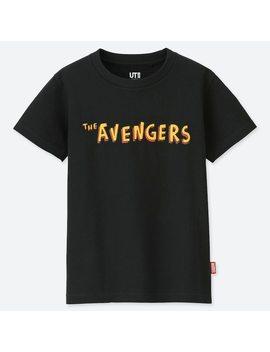 Kids Marvel X Jason Polan Ut (Short Sleeve Graphic T Shirt) by Uniqlo