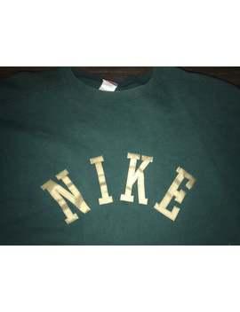 Vintage Nike Sweatshirt by Etsy