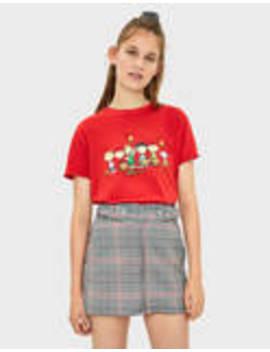 Snoopy T Shirt by Bershka