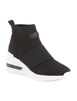 Wedge Knit Sneakers by Tj Maxx