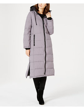 Oversized Hooded Maxi Puffer Coat by General
