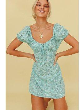 Future Plans Mini Dress // Aqua by Vergegirl
