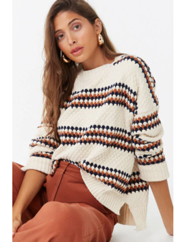 Textured Chenille Sweater by Forever 21