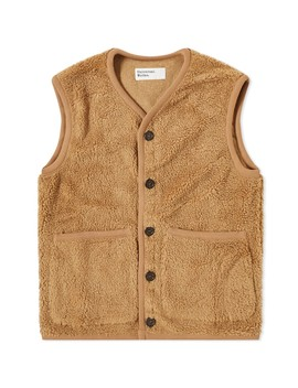 Universal Works Lancaster Mountain Fleece Gilet by Universal Works