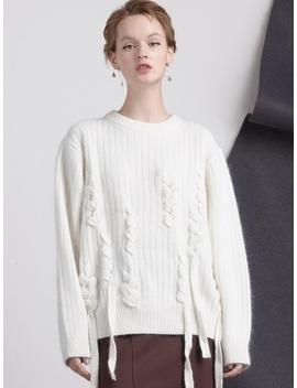 Nu Angora Taped Knitwear  3 Colors by Bemusemansion