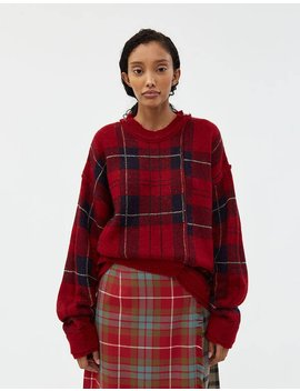 Asymmetry Check Sweater by Andersson Bell Andersson Bell