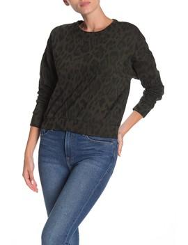 Leopard Print Sweatshirt by Socialite