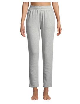 Terry Cloth High Waist Sweatpants by Pour Les Femmes