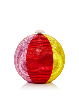 Beach Ball Sphere Clutch by Judith Leiber Couture