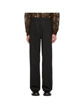 Black Wind Trousers by Hope