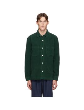 Green Corduroy Overshirt by Hope