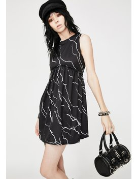 Lightning Mini Babydoll Dress by Another Reason
