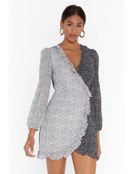 Heart The Party Wrap Mini Dress by Nasty Gal