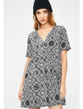 Astrology Crosena Dress by Motel