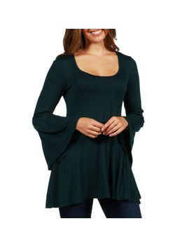 24/7 Comfort Apparel Del Mar Tunic Top by Master Cutlery