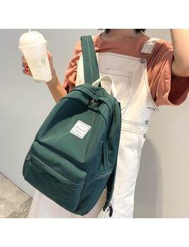 Beamie   Nylon Plain Backpack by Beamie