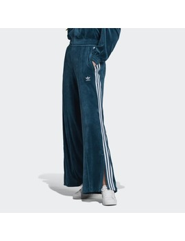 Velour Track Pants by Adidas