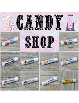 Candy Shop Lip Balm Collection   Handmade All Natural Lip Balm by Etsy