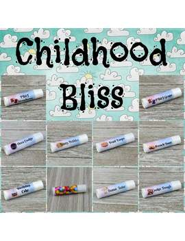 Childhood Bliss Lip Balm Collection   Handmade All Natural Lip Balm by Etsy