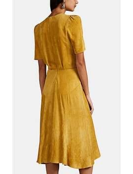 Ulia Pleated Corduroy Dress by Isabel Marant