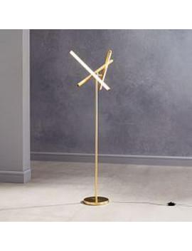 Light Rods Led Floor Lamp by West Elm