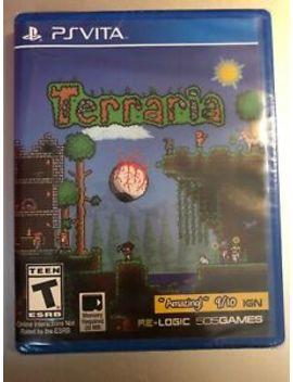Terraria (Ps Vita   Playstation Vita, 2015) New, Sealed by 505 Games