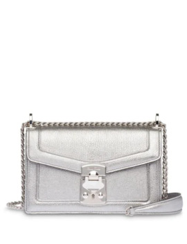 Miu Confidential Madras Leather Bag by Miu Miu