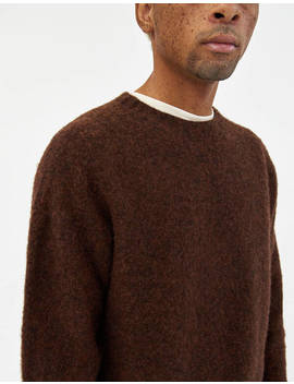 Birth Of The Cool Sweater In Brownish by Howlin'howlin'