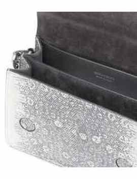 Madeline Leather Shoulder Bag by Jimmy Choo