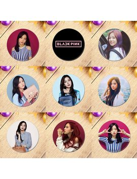 2019 New Korean Kpop Blackpink Album Brooch Pin Badge Accessories For Clothes Hat Backpack Decoration by Ali Express.Com