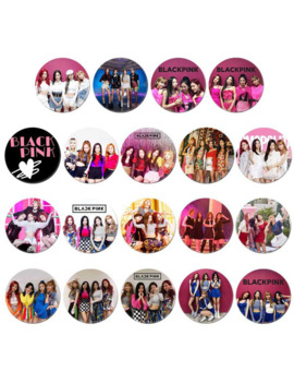 Korean Kpop Blackpink Album Brooch Pin Badge Accessories For Clothes Hat Backpack Decoration 19 Styles Brooches by Ali Express.Com