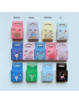 Kpop Bangtan Boys Tata Chimmy Cooky Rj Blackpink Seventeen Got7 Twice Tapes Paper Diy Diary Masking Scrapbook Sticker 1.5 Cm*5 M by Ali Express.Com