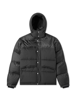 Gucci Jacquard Down Jacket by Gucci