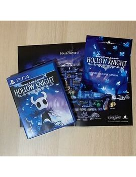 Hollow Knight (Play Station 4, Usa Physical) Ps4 Game Fast Shipping by Ebay Seller