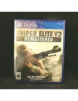 Sniper Elite V2 Remastered (Ps4 / Playstation 4) Brand New / Region Free by Ebay Seller