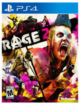 Rage 2   Ps4 Brand New Factory Sealed!!! by Bethesda