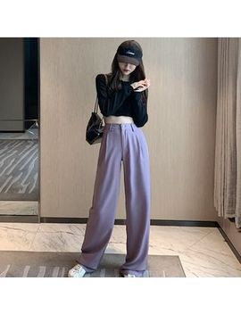 Bb Chic   Cropped Knit Top / Dress Pants by Bb Chic