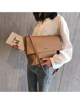 Sauledore   Faux Leather Flap Shoulder Bag by Sauledore