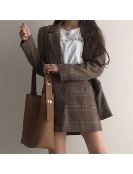 Minafox   Faux Leather Tote Bag by Minafox