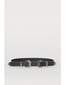 Belt With Buckles by H&M