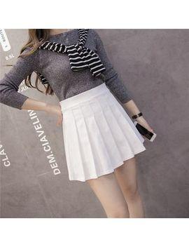 Cherry Dress   Mini Pleated Skirt (Various Designs) by Cherry Dress