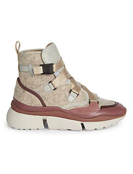 Sonnie High Top Sneakers by Chloé