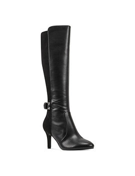Delfie Pointy Toe Tall Dress Boots by General