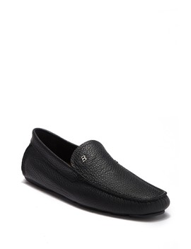 Wander Pebbled Leather Moc Driver by Bally