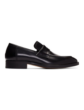 Black Ridley Loafers by Paul Smith