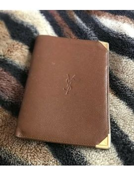 Vintage Yves Saint Laurent Leather Wallet by Yves Saint Laurent