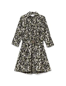 Printed Utility Dress by Cotton Club