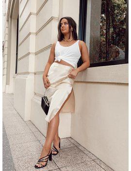 Natalie Midi Skirt by Bella Fiori X Princess Polly
