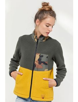 Herschel Supply Co. Colorblock Fleece Jacket by Herschel Supply Co.