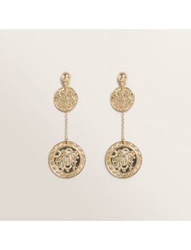 Coin Chain Earring by Seed Heritage